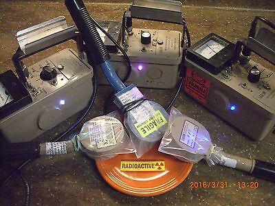 Ludlum Geiger Counter 2 3 12 14c Mod-kit To Add Flashing Led 9.50 Sh