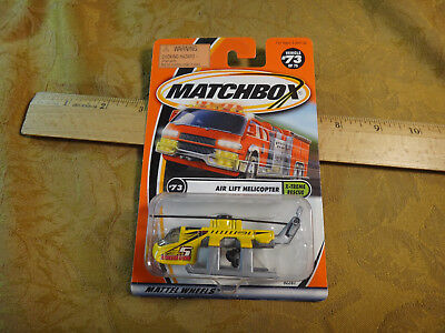 Matchbox X-Treme Rescue #73 Air Lift Helicopter - Free S&H USA