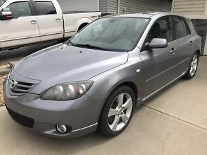2006 MAZDA 3 GT SPORT- Salvage Inspection Required