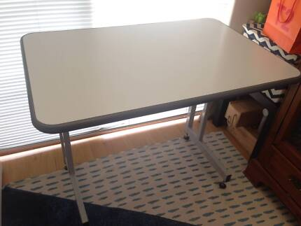 Desk table grey workbench for kids or multi-use