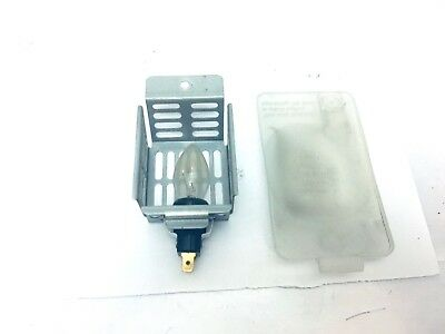 Amana Electric Dryer  Light Socket  & Bulb Tandem 7300 Model NED7300WW1