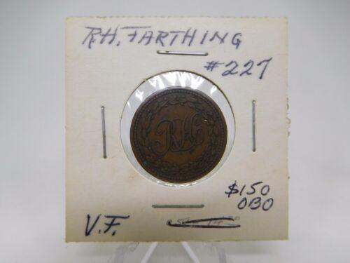 1812 Canada R.H. Farthing Token Breton #991