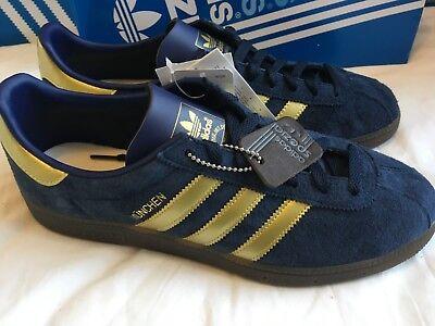 Adidas munchen spzl navy gold  8 uk 8.5 us  BNIB