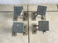 "Set of 4 Weaver Dinghy Chocks, Standard 6"" High, Swivels"