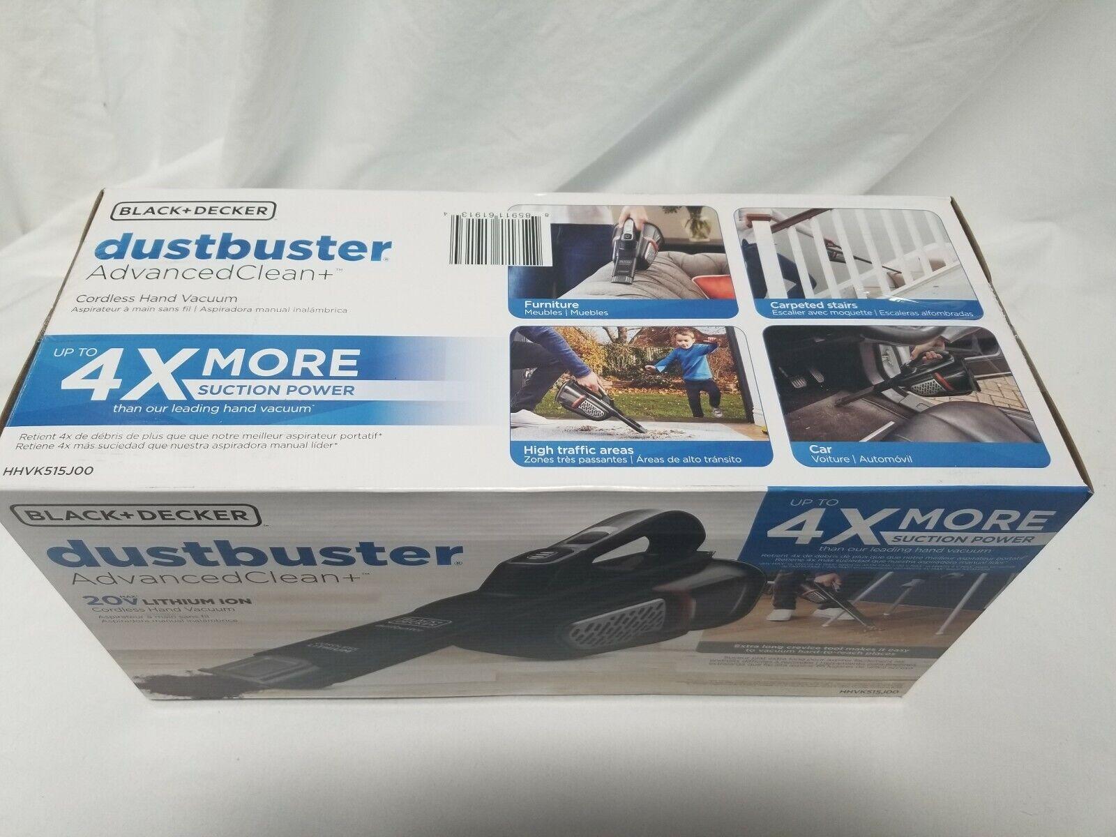 black and deck dustbuster handheld vacuum cordless