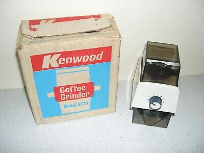 BOXED KENWOOD CHEF - COFFEE GRINDER, FITS ALL CHEF MODELS  A779