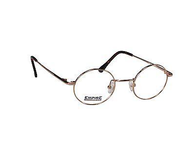 Vintage John Lennon Eyeglass Frames Glasses Flexible Titanium Gold Silver Retro