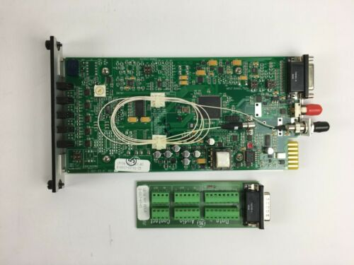 S751DAT-RST2L Optic TwoWay Audio Multiprotocol Data transmitter Fiber Options GE