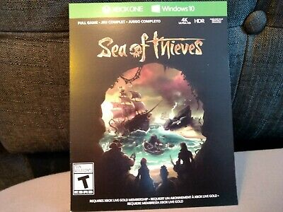 New Sea of Thieves Download Card Xbox One Microsoft PC Windows 10 Full Game SOT