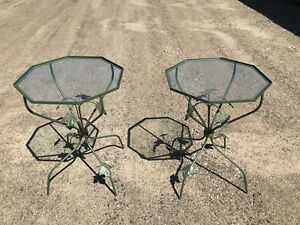 Pair of Garden Tables