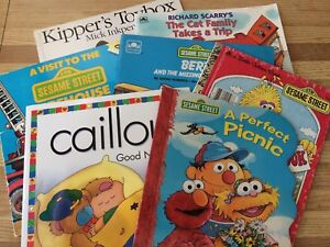 Preschool collection of 7 used books!