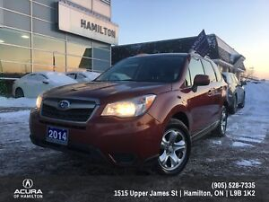 2014 Subaru Forester 2.5i ONE OWNER EXCELLENT CONDITION!