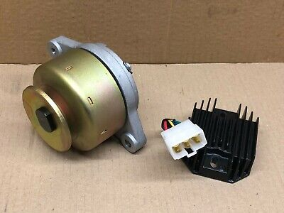 BRAND NEW 12V 14 AMP ALTERNATOR WITH RECTIFIER REGULATOR ASSY FOR KUBOTA PLA102