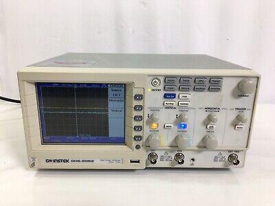 Gw Instek Gds-2062 Digital Storage Oscilloscope 60mhz 1g Sas 2-ch 7256