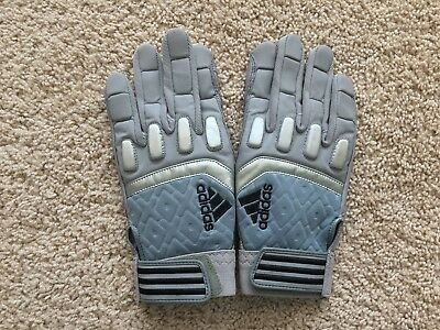 d0153ffe801 NEW Adidas SCORCH DESTROY football lineman gloves men 2XL Grey