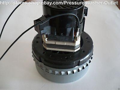 Q6600-005t-mp Vacuum Motor Commercial Grade 230 Volt For Vacuums