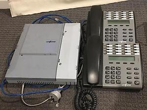 Unifone PABX system with handsets Coomera Gold Coast North Preview