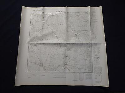 Landkarte Meßtischblatt 3848 Märkisch Buchholz, Halbe, Klein Köris, Hammer, 1945