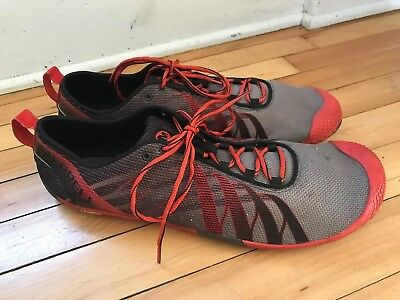 a5f974ff87d Merrell M-connect Barefoot Running Shoes Black lantern Size US 13