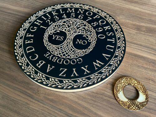 Tree Of Life Celtic Design Ouija Board. Spirit Talking Board & Planchette