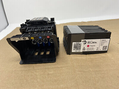 HP Printhead kit with Replacement cartridges CR322A New OEM  950 951 USA
