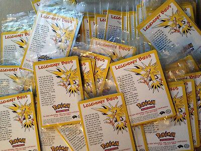Pokemon: Legendary Birds (Pokemon: 2000 Movie Promo Card) New/Sealed