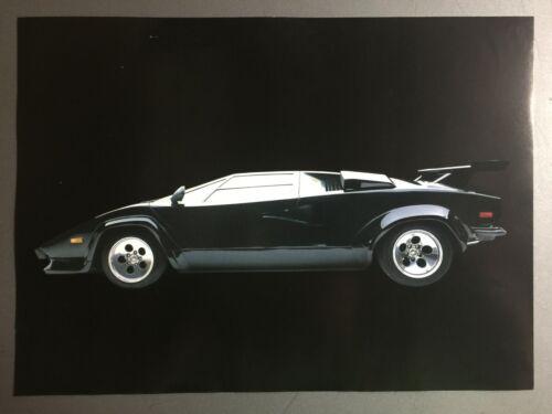 1982 Lamborghini Countach Coupe Picture, Print, Poster RARE!! Awesome L@@K