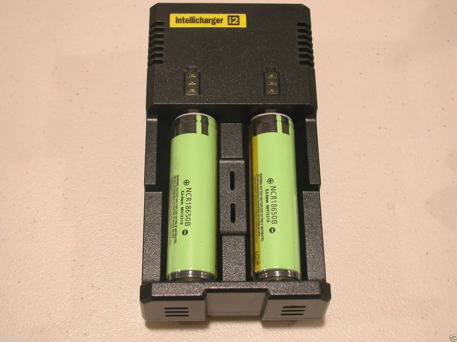 Nitecore I2 Intellicharger Charger 2014 Version W/ 2 Pana...