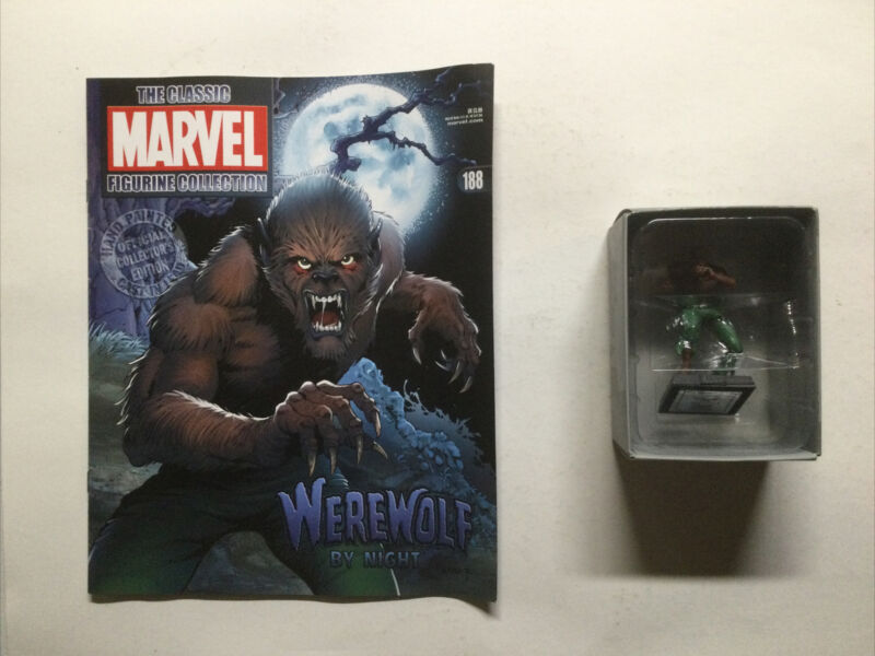Werewolf By Night Marvel Figure Collection 188 Lead Figure Eaglemoss