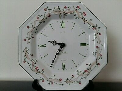 Eternal Beau Wall Clock in Excellent Condition Johnson Brothers Quartz Movement