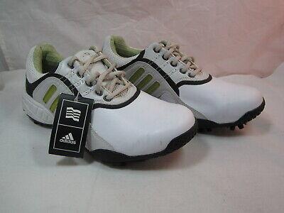 Womens Adidas Tech Feather Adiprene White/Black Lace Up Shoes Size 6M 1