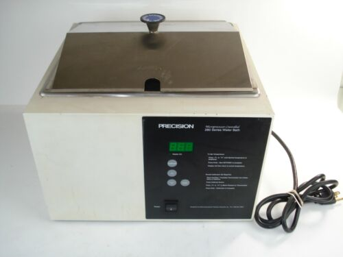 Precision Scientific 280 Series P/N 283-115 Water Bath With Cover
