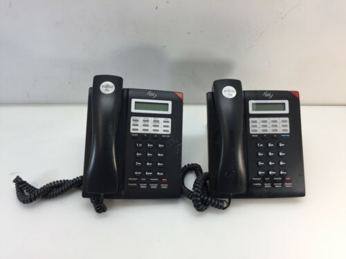 Lot of 2 Esi ESI-30 12-Button Display Speakerphone