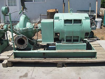 Worthington Centrifugal In-line Pump 6 Discharge 8 Inlet Wtih 125hp Motor