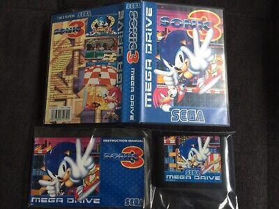 ++ Sega Mega Drive Game Sonic 3 in OVP und Anleitung ++ comprar usado  Enviando para Brazil