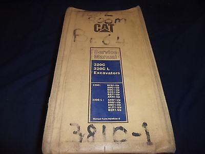 Cat Caterpillar 320c L Excavator Service Shop Repair Manual Bcb Amc Bdc Ccd Bef