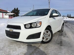 2012 Chevrolet Sonic certified on special