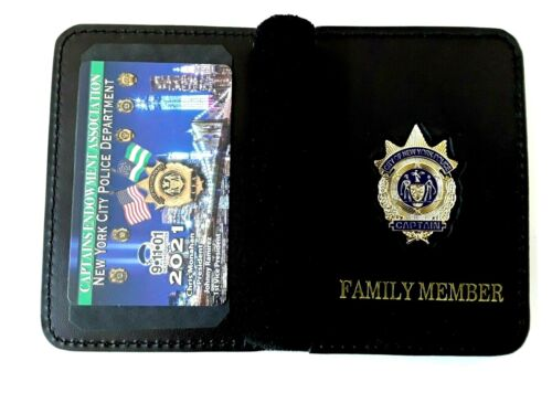 1  NEW 2021  CEA PBA CARD WITH LEATHER FAMILY MEMBER WALLET LIKE LBA SBA DEA PBA