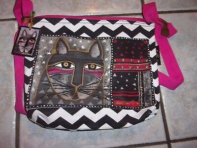 Laurel Burch - Whiskered Cat - Cross body Bag