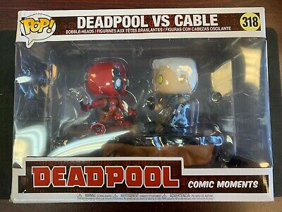 Cable Vs Deadpool (FUNKO POP COMIC MOMENTS