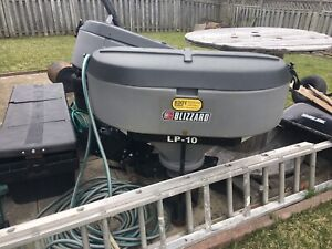 2 LIKE NEW BLIZZARD TAILGATE SALTER NEED GONE TODAY
