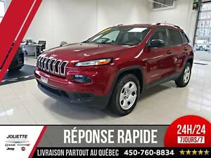 2015 Jeep Cherokee Sport, 4X4, PLAN OR! BAS KILO!