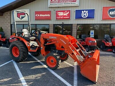 2018 Kubota B2650 Hst Compact Tractor 26 Hp Diesel 4x4 With Loader 247 Hrs