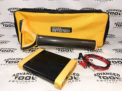 Vivax Metrotech Vlocpro2 Pipe Cable Utility Locator With Transmitter Vx205-2