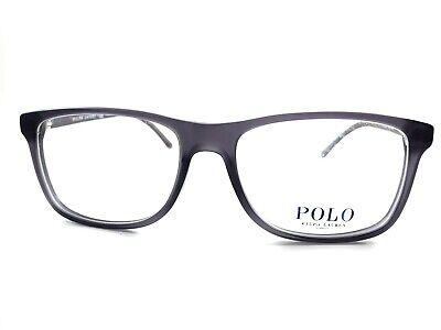 NEW Polo Ralph Lauren RL2151 5320 Men's Grey Rx Eyeglasses Frames 54/17~145
