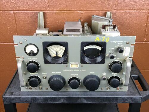 Vintage Hammarlund SP-600 JX-14 Serial Number 8282