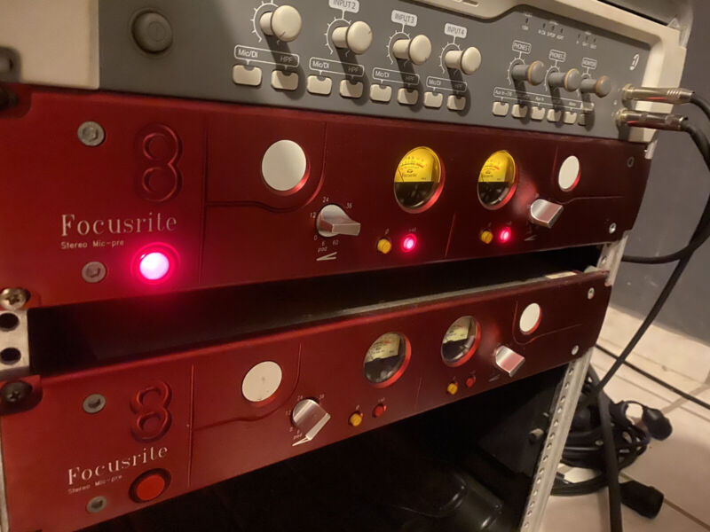Focusrite Red 8 Stereo Preamp