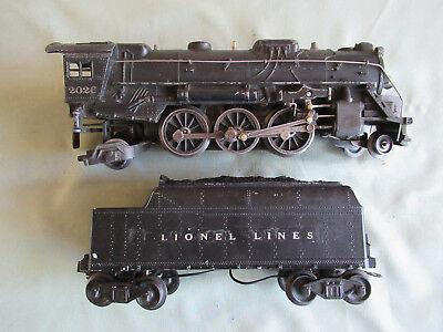 Lionel No. 2026 2-6-2 Locomotive w/6466W Tender