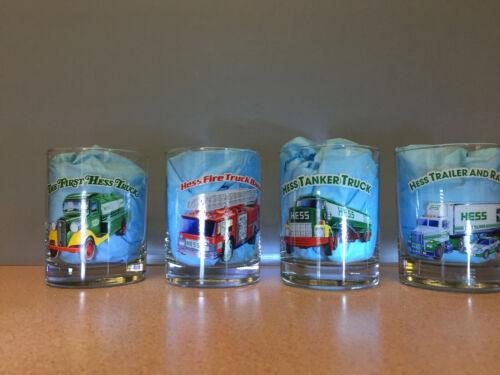 Hess Truck Glasses 1996 Issue Set Of 4 Glasses