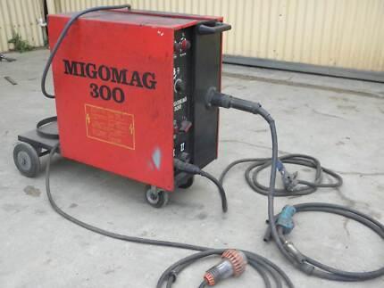 mig welder migomag 415v 300 amp Strathalbyn Alexandrina Area Preview